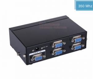 Bộ chia VGA 1 ra 4 MT-3504 hỗ trợ cáp VGA 45M