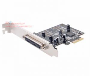 Card PCI-E 1X to LPT Dtech PC0084. Hỗ trợ Win 7