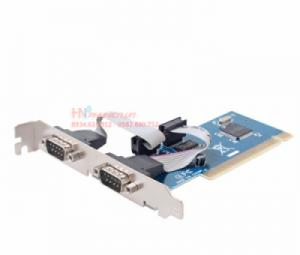 Card PCI to 2 COM RS232 Dtech PC0098
