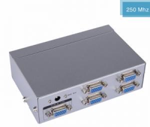 Bộ chia VGA 1 ra 4 MT-2504 hỗ trợ cáp VGA 30M