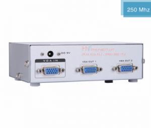 Bộ chia VGA 1 ra 2 MT-2502 hỗ trợ cáp VGA 30M