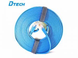 Cáp mạng dẹt 5m CAT6 Gigabit Dtech DT-67F50 chính hãng