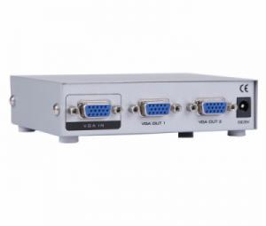 Bộ chia VGA 1 ra 2 MT-1502 hỗ trợ cáp VGA 25M