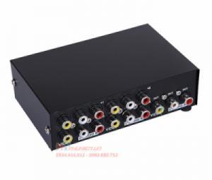 Bộ chuyển mạch AV 4 ra 1 có nút bấm MT-431AV