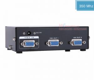 Bộ chia VGA 1 ra 2 MT-3502 hỗ trợ cáp VGA 45M