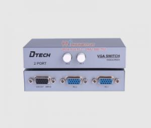 Bộ chuyển mạch màn hình VGA 2 ra 1 Dtech DT-7032