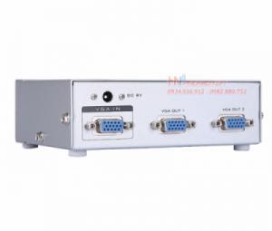 Bộ chia VGA 1 ra 2 MT-5002 hỗ trợ cáp VGA 65M