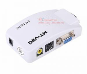 Bộ chuyển đổi AV, S-video sang VGA MT-TP02