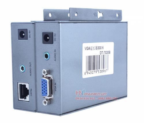 Bộ khuếch đại VGA 300M qua cáp mạng UTP CAT 5E/6 Dtech DT-7020B