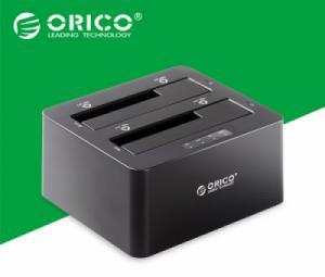 HDD Docking 2 khay Orico 6629US3-C có chức năng nhân bản