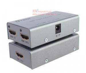 Bộ khuếch đại HDMI 60M qua cáp mạng CAT5E/6 Dtech DT-7009