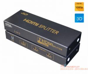Bộ chia HDMI 1 ra 2 hỗ trợ 3D, HDMI 1.3 EKL HS102