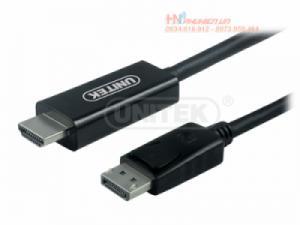 Cáp Displayport to HDMI 1.8M Unitek Y-5118CA