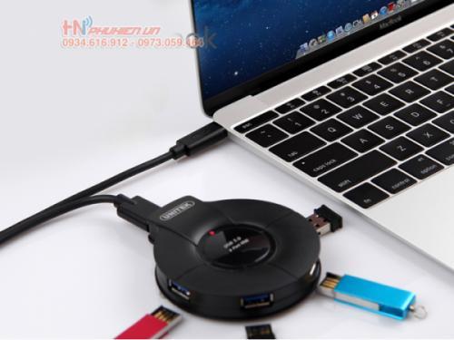 Kết nối với bộ chia USB 3.0