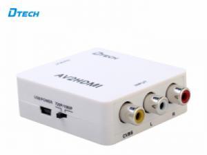 Bộ chuyển đổi AV (RCA) sang HDMI Dtech DT-6518