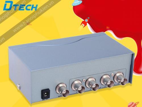 Bộ chia camera, chia BNC 1 ra 4 Dtech DT-7104 chính hãng