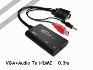 Cáp chuyển đổi VGA Audio sang HDMI ZTek ZE577