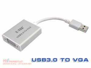 Cáp chuyển đổi USB 3.0 sang VGA Ztek ZY197