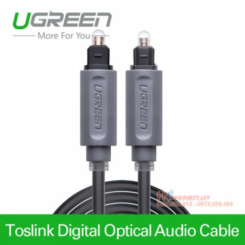 Cáp audio quang 1M Ugreen 10768 (Optical Toslink Cable)