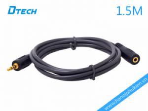 Cáp nối dài loa 1.5M Dtech DT-6215