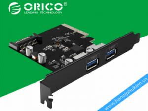 Card PCI-E 4X to 2 Port USB 3.1 Orico PA31-2P