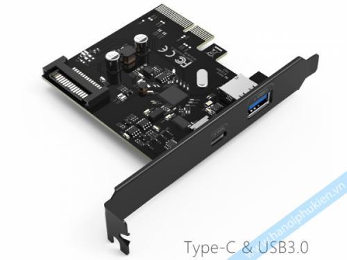 Chuyển đổi PCI-E sang Type C