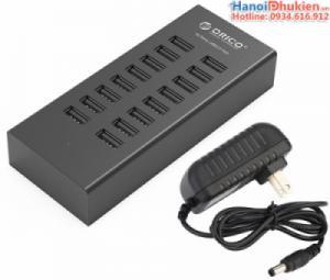 Bộ chia USB 1 ra 16 cổng USB 2.0 Orico H1613-U2 có nguồn phụ