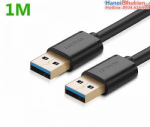Cáp USB 3.0 Male to Male (hai đầu đực) 1M Ugreen 10370