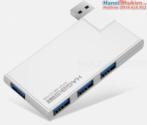 Bộ chia USB 3.0 - 1 ra 4 chuyên dùng cho Laptop, Macbook, Surface PRO