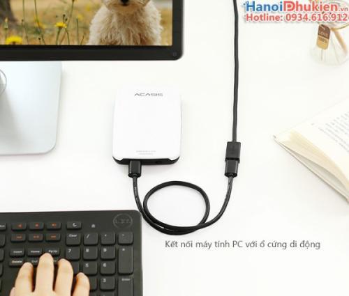 Cáp nối dài USB 3.0 dài 1.5M Ugreen 30126