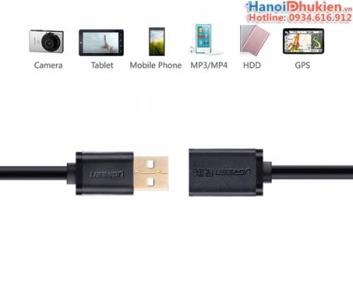 Cáp nối dài USB 2.0 Ugreen 10314 dài 1M