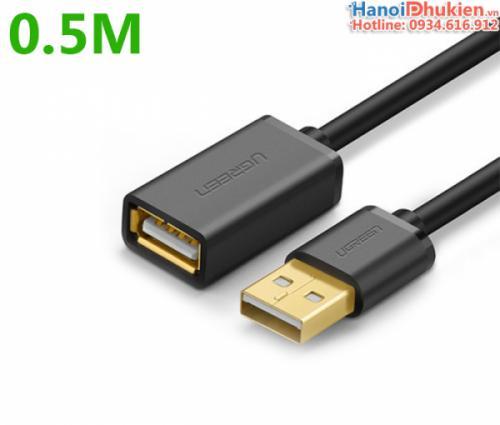 Cáp nối dài USB 2.0 Ugreen 10313 dài 0.5M