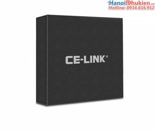 Cáp chuyển đổi USB-C (thunderbolt 3) ra HDMI, VGA CE-Link chính hãng