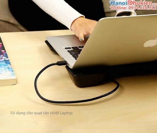 Cáp USB 3.0 Male to Male (hai đầu đực) 2M Ugreen 10371
