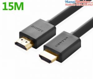Cáp HDMI 1.4 dây tròn 15M Ugreen 10111 hỗ trợ 3D, 4K, Ethernet