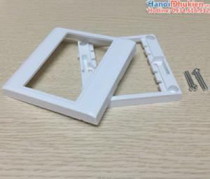 Mặt nạ ốp tường cho nhân HDMI, VGA, AV âm tường loại 3 nhân