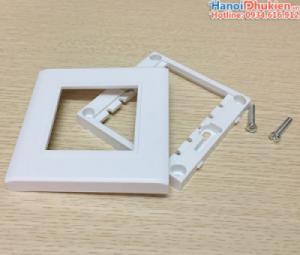 Mặt nạ ốp tường cho nhân HDMI, VGA, AV âm tường loại 2 nhân