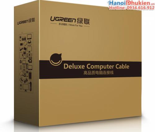Cáp HDMI 1.4 vỏ kim loại dài 5M  Ugreen 10294 hỗ trợ 3D, 4K, Ethernet