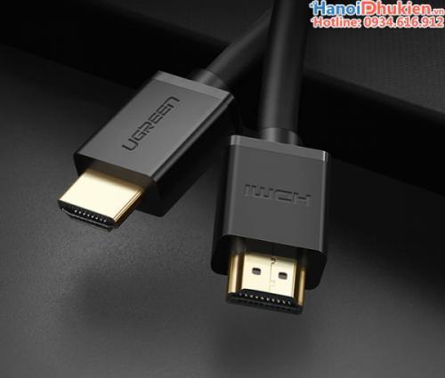 Cáp HDMI 1.4 dây tròn 20M Ugreen 10112 hỗ trợ 3D, 4K, Ethernet