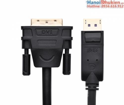 Cáp chuyển đổi Displayport sang DVI-D 24+1 dài 3M Ugreen 10222