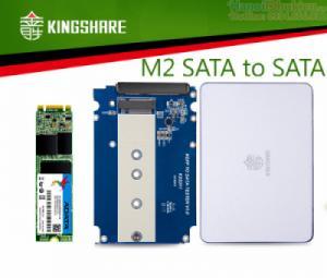Box chuyển M2 SATA sang SATA 2.5 inch Kingshare KS-ANSTS25 NGFF