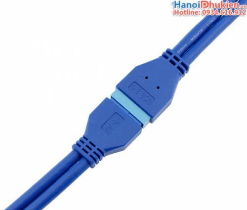 Cáp USB 3.0-20Pin nối dài (đầu đực - đầu cái) dài 0.5M