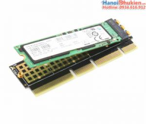 Adapter Card M2 NMVe sang PCI-E 3.0 JEYI MX16-1U dùng cho PC, Server 1U