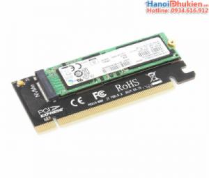 Adapter Card M2 NMVe sang PCI-E 16X JEYI MX16 dùng cho PC