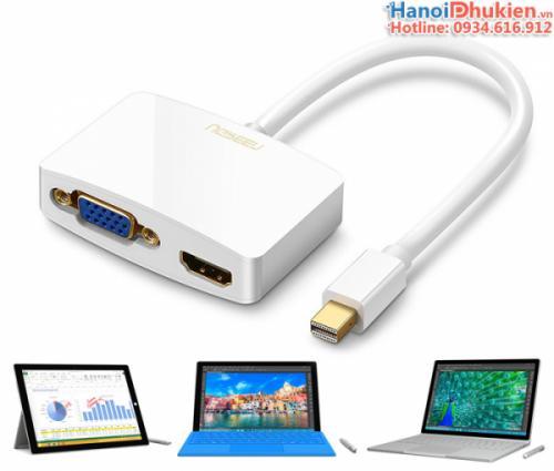 Cáp kết nối Surface Pro 2, 3, 4, Surface Book ra Tivi, máy chiếu HDMI-VGA
