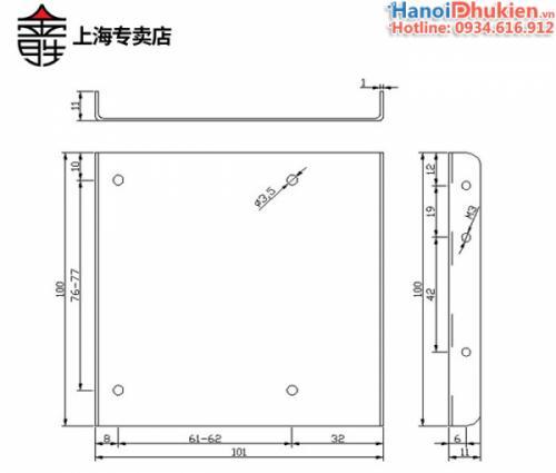 Khay gắn ổ cứng SSD, HDD 2.5