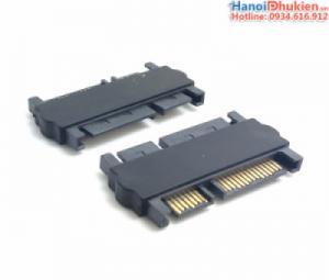 Đầu nối ổ cứng HDD SSD SATA 22pin (7+15pin) đực sang đực