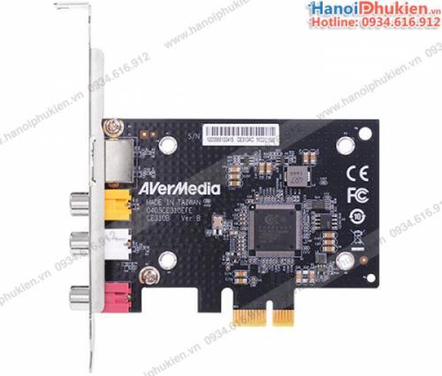 Avermedia CE310B card PCI-e to AV, Svideo ghi hình cho máy siêu âm, nội soi chính hãng