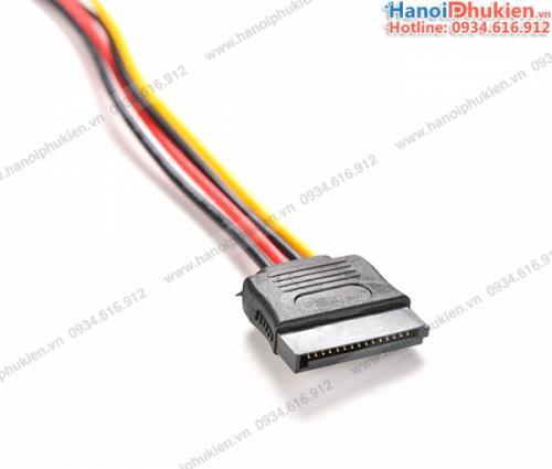 Cáp nguồn SATA 15Pin nối dài cho ổ cứng HDD, SSD