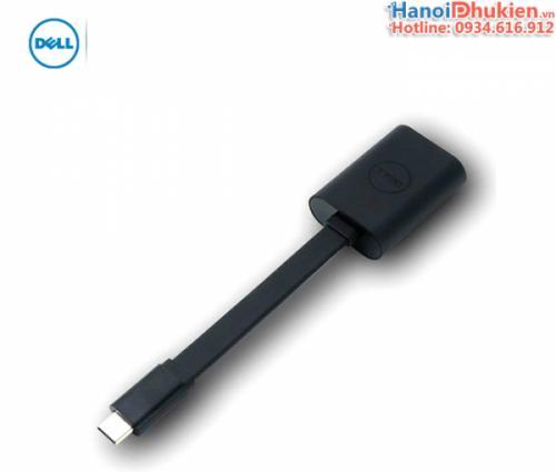 Dell Adapter US-C (Thunderbolt 3) to VGA chính hãng